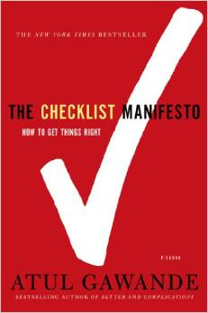 Checklist manifesto